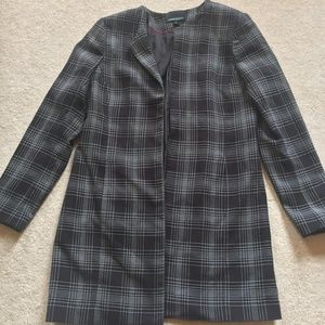 Cynthia Rowley Jackets & Coats - Cynthia Rowley Plaid Long Blazer Coat Wear to Work